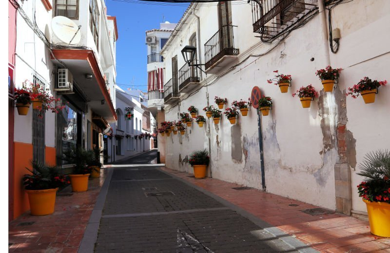 Estepona es uno de los pueblos más bonitos de la Costa del Sol