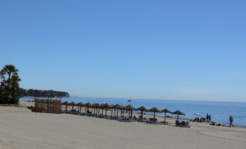 Playa de La Rada Málaga provincia