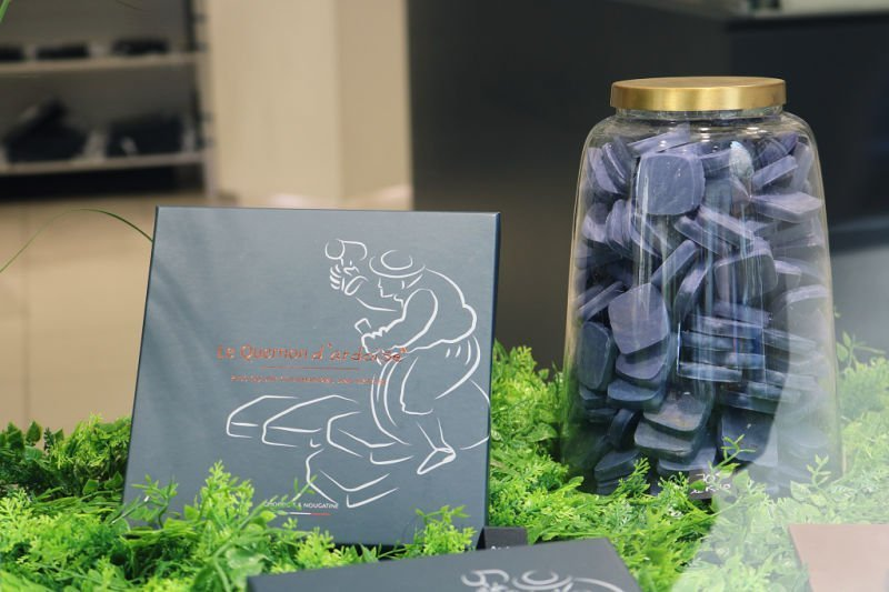Quernon d'Ardoise - El chocolate azul de Angers
