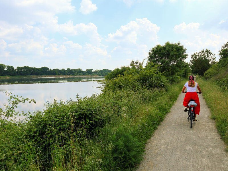 Ruta en bicicleta por el Loira