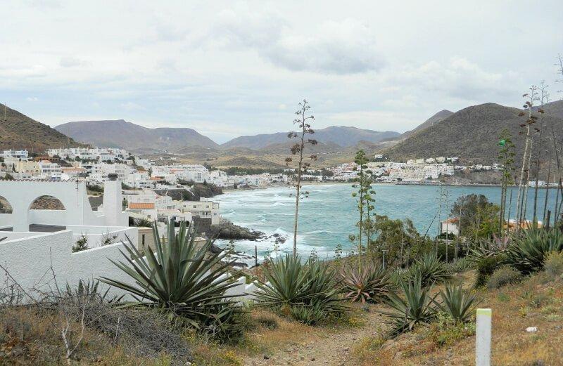 San José y el mar en Almería