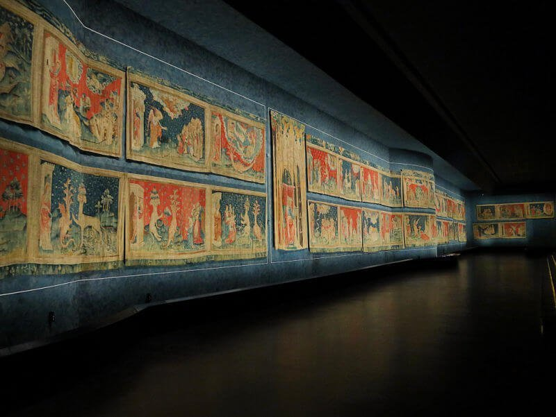 Tapiz del Apocalipsis medieval