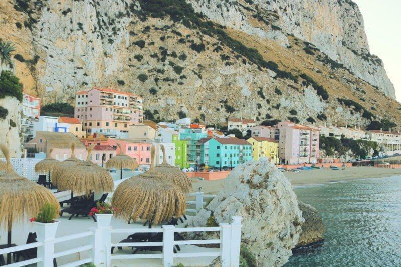 Casitas de colores - Qué ver en Gibraltar