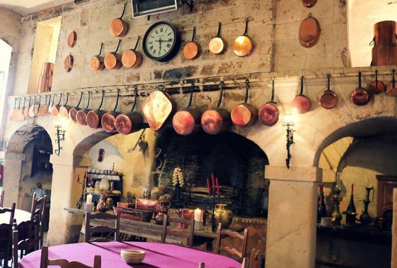 Cocinas medievales del Loira