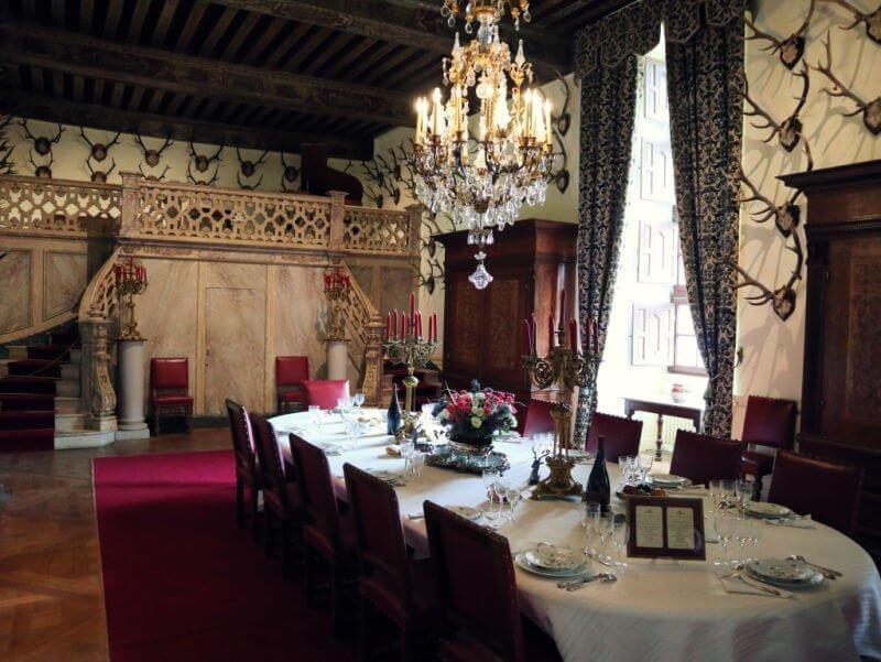 Comedor del Palacio de Brissac