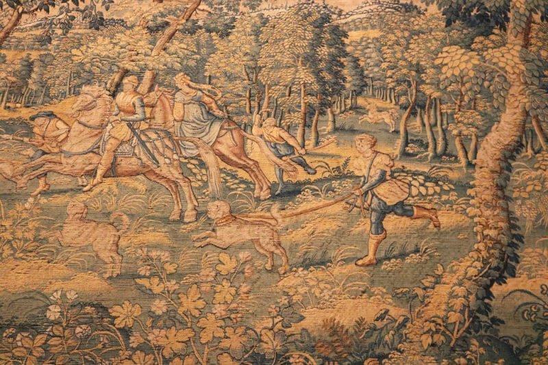 Cuarto de la caza del Castillo de Brissac