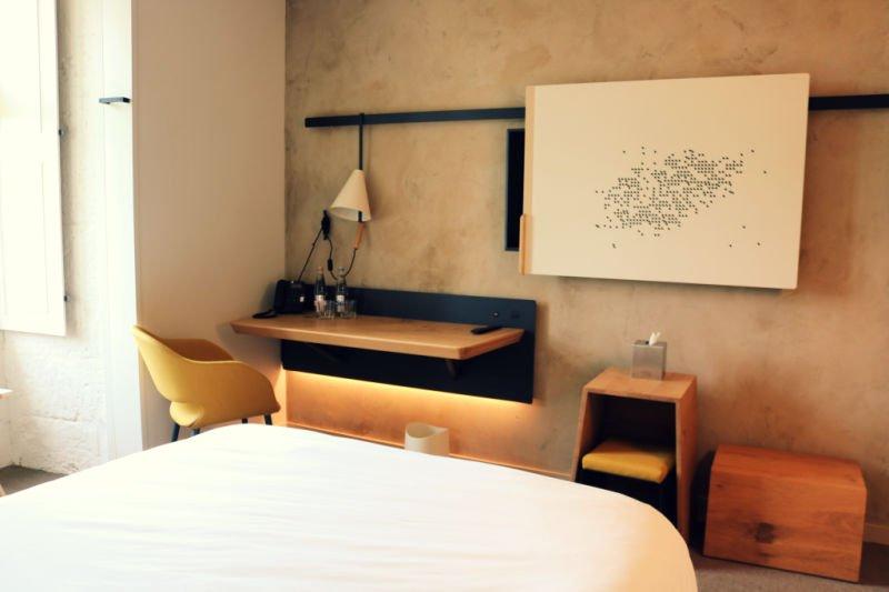 Dormitorio del Hotel Fontevraud