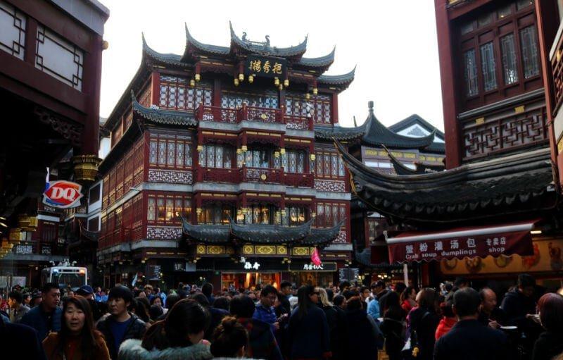 Gran Bazar de Yuyuan Garden