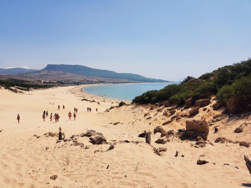 La duna de Bolonia, la playa más bonita de Cádiz