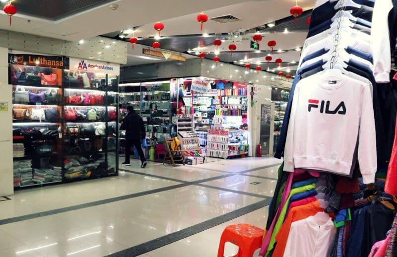 Mercado de falsificaciones de Shanghái
