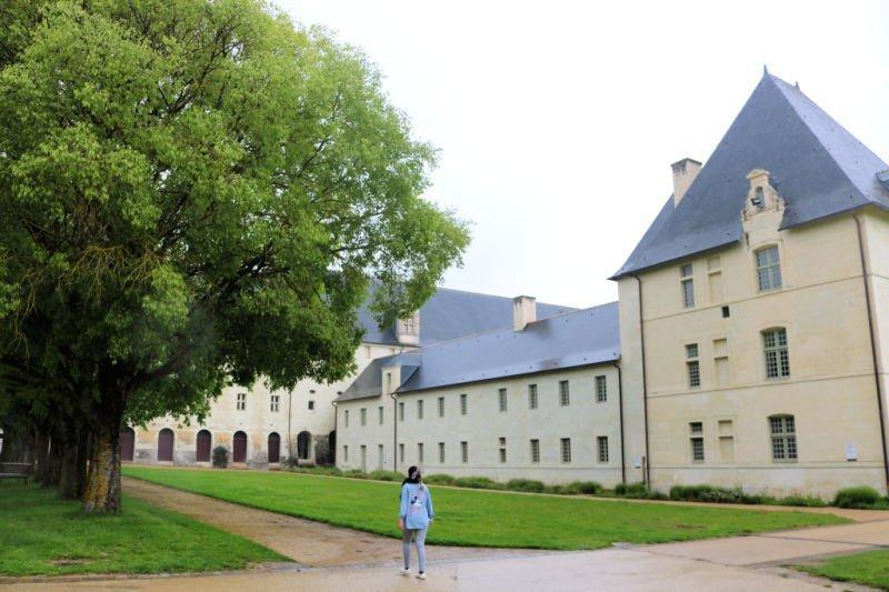 Paseando por la abadía de Fontevraud