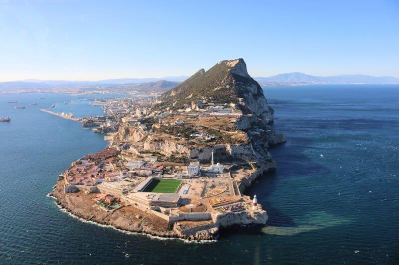 Qué hacer en Gibraltar: montar en helicóptero