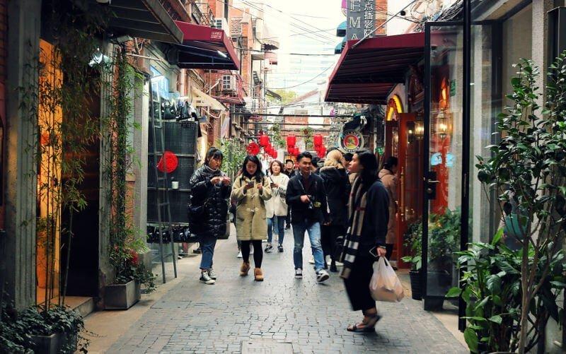 Tianzifang, la zona hipster de Shanghái