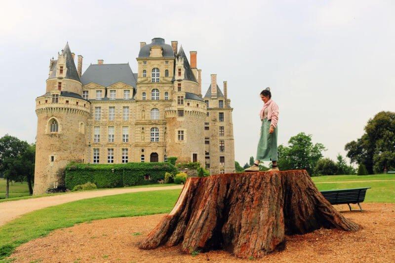 Visitar el Castillo de Brissac cerca de Angers