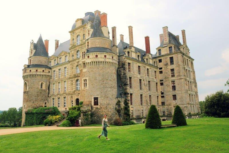 Visitar el castillo más alto del Loira