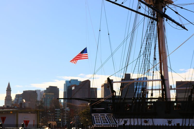 Barco USS Constitution - Qué ver en Boston