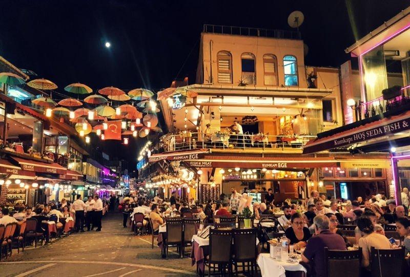 Barrio de Kumkapi en Estambul