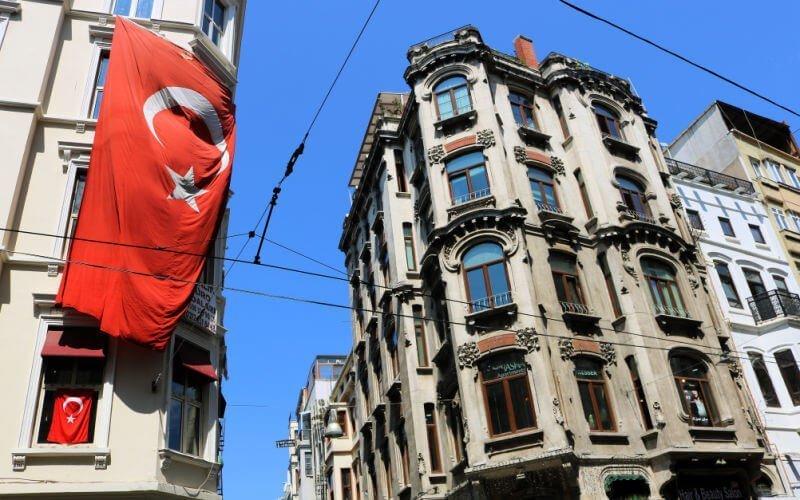Calle Istiklal, la vía de las tiendas en Estambul
