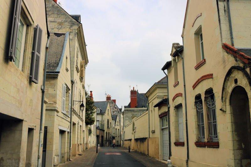Calles de las ciudades del Loira