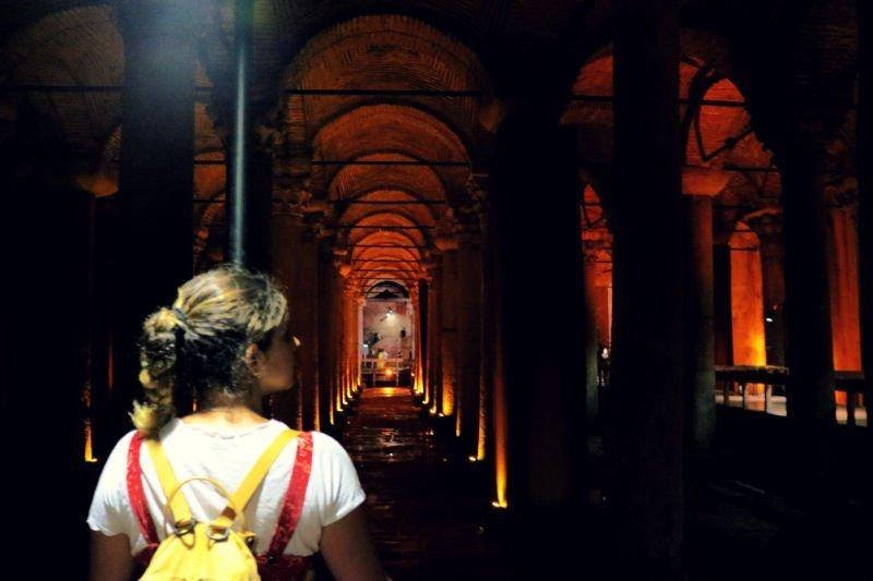 Cisterna Basilica - Qué ver en Estambul