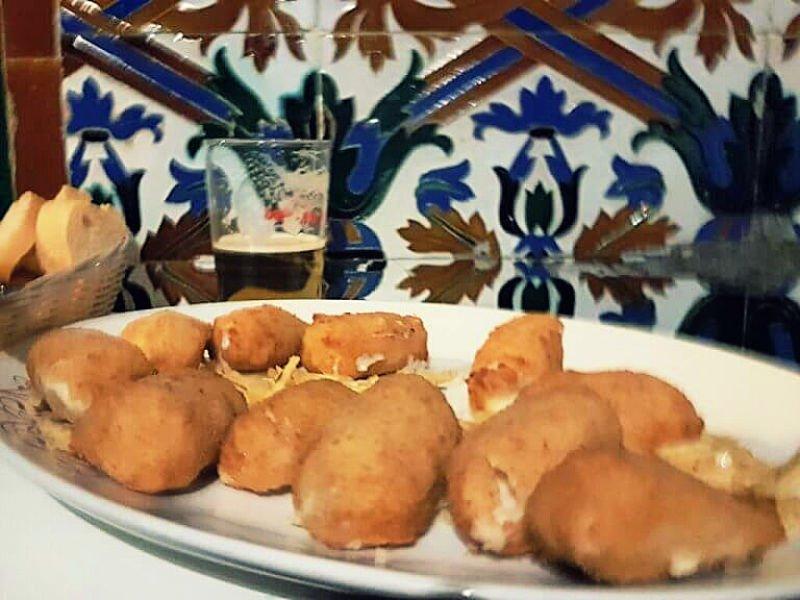 Croquetas de Casa Ricardo - Bares en Sevilla