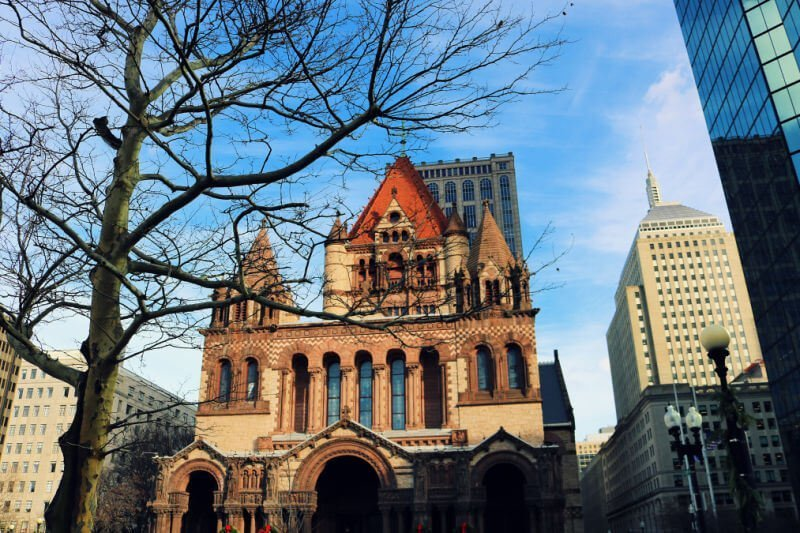 La Trinity Church de Boston