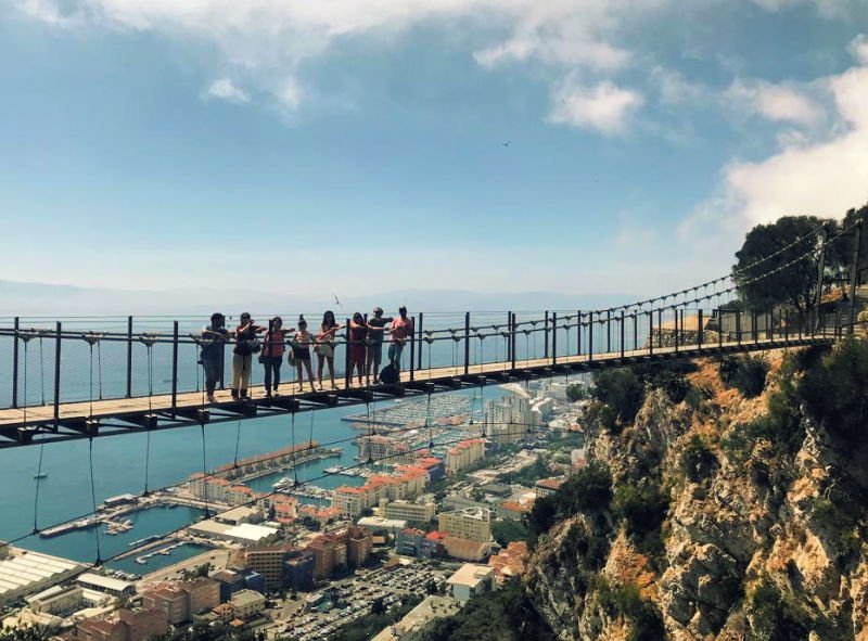 Puente colgante de Gibraltar
