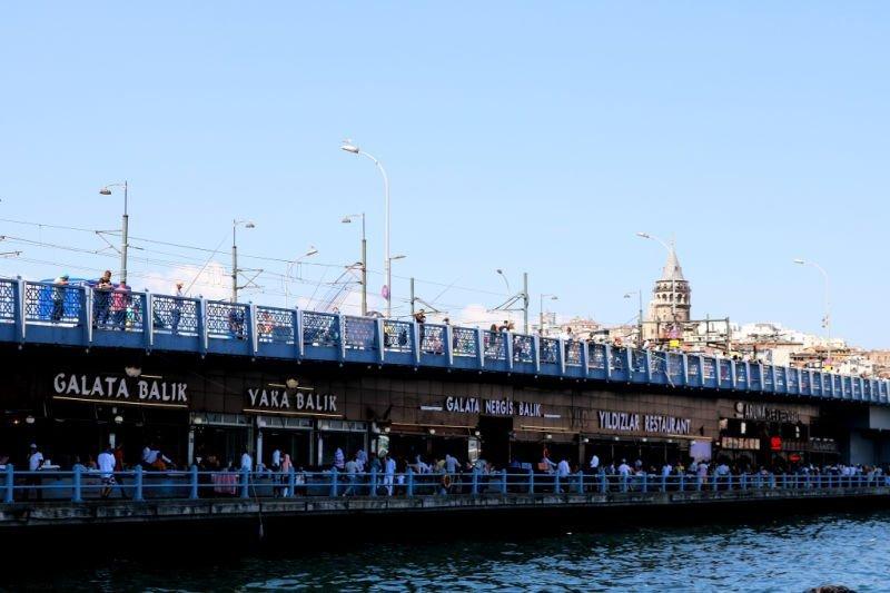 Puente de Gálata, uniendo oriente con occidente