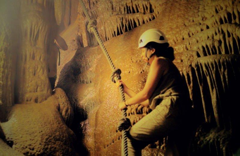 Visitar una cueva en Gibraltar