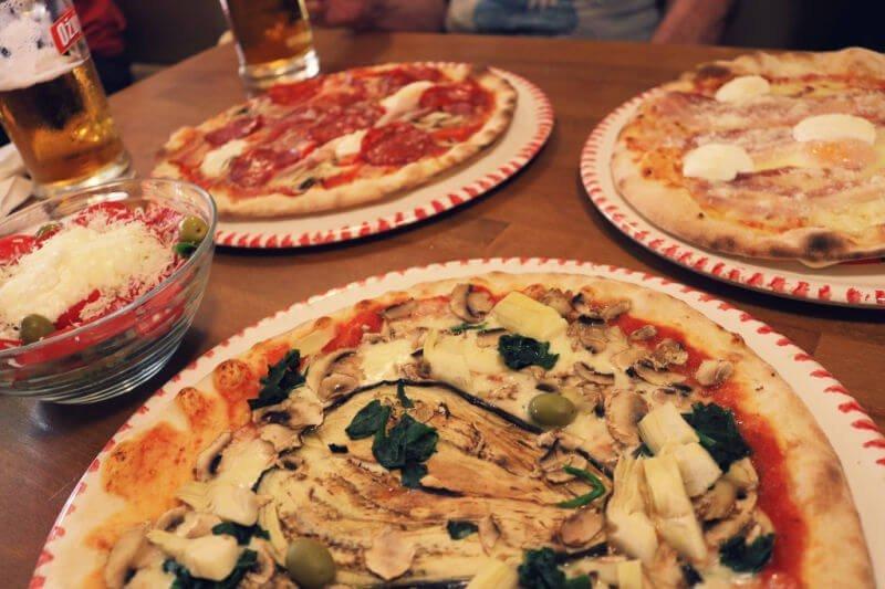 Dónde comer en Rovinj: Pizzeria da Sergio