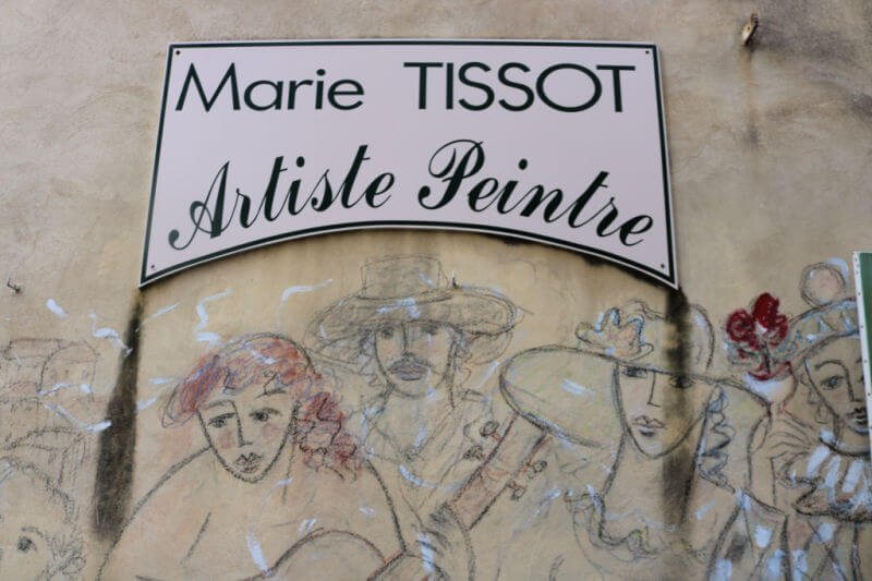 El pueblo de Picasso en Francia