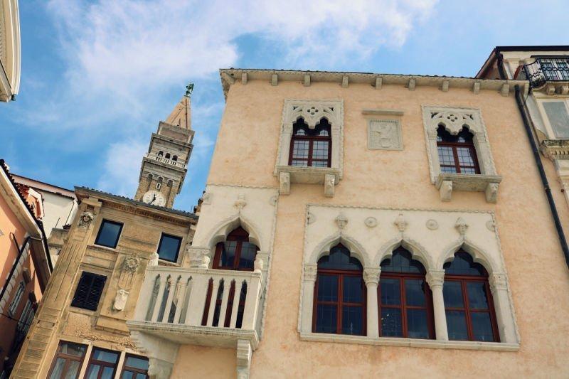 La casa veneciana de Pirano