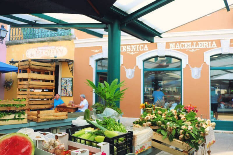 Mañanas de mercado en Rovinj