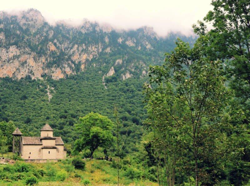 Monasterio Dobrilovina en Durmitor