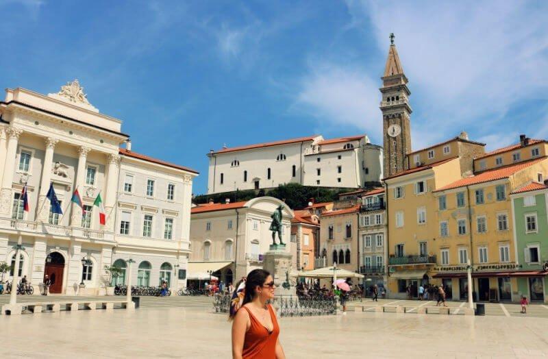 Plaza Tartini - Qué ver en Piran