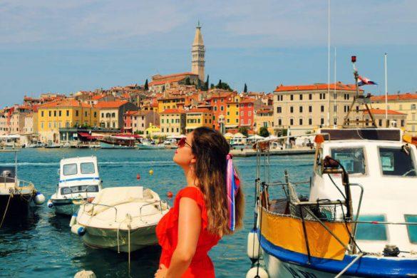Rovinj, la Perla de Istria en Croacia