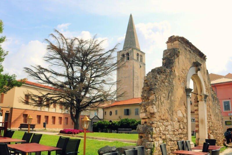 Torre de la Basílica Eufrasiana de Porec