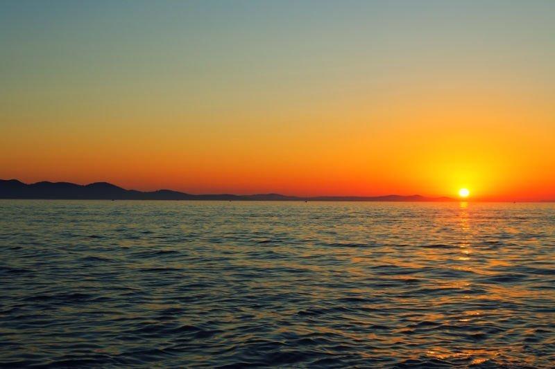 El atardecer más bonito del mundo está en Zadar