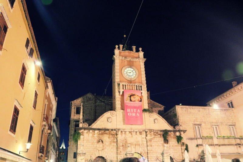 El Reloj de la Plaza del Pueblo - Qué ver en Zadar