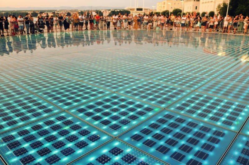El Saludo al Sol, qué ver en Zadar en un día