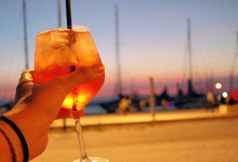 Hora del aperitivo en Ortigia
