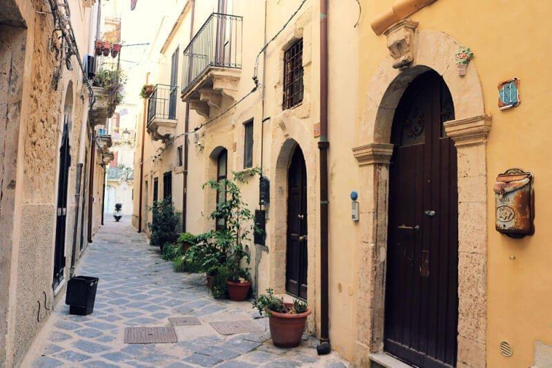 La Judería de Siracusa en Ortigia