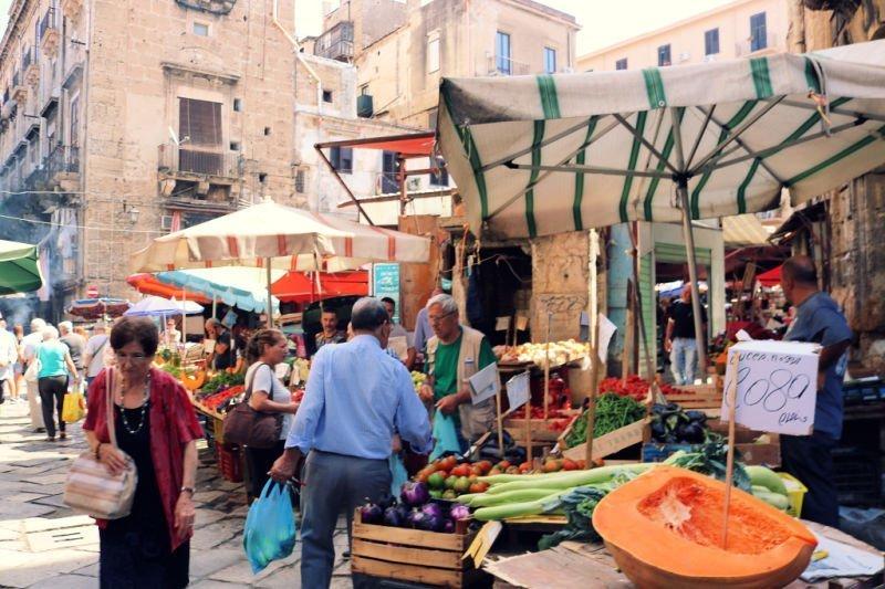 Mercado de Ballarò de Palermo