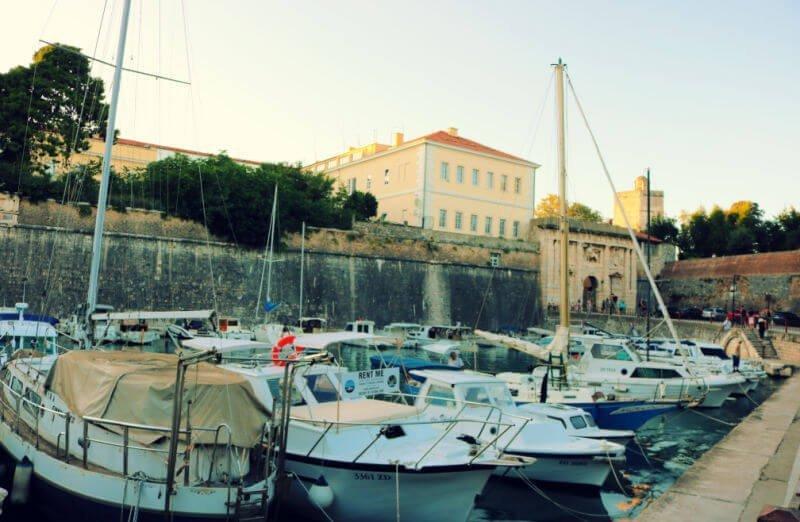 Muralla y Puerta Terrafirme de Zadar