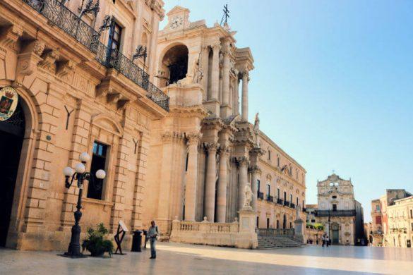 Piazza del Duomo - Qué ver en Siracusa