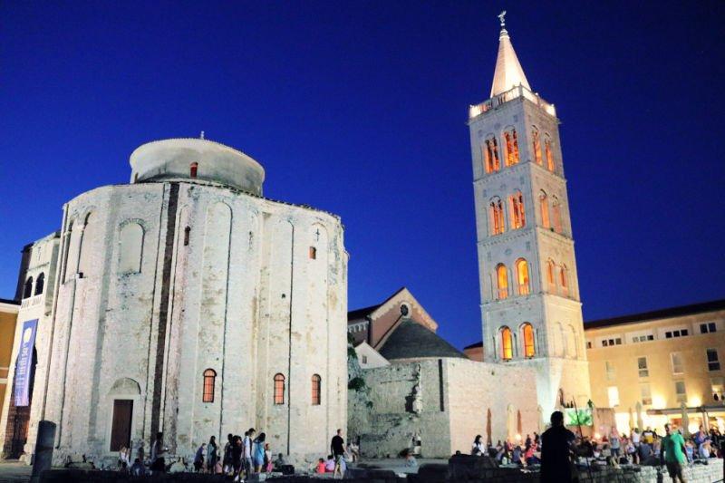 Qué ver en Zadar: la iglesia de San Donato