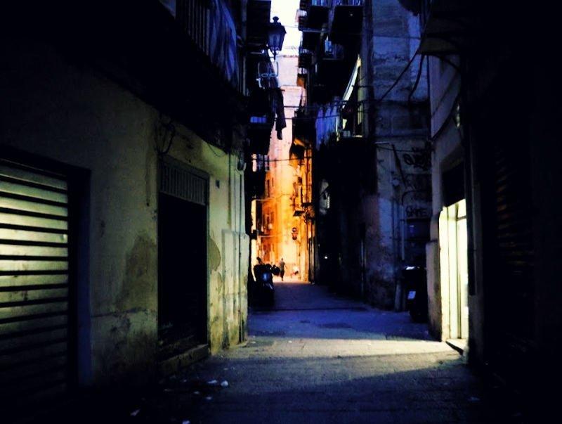 Calles destartaladas de Palermo