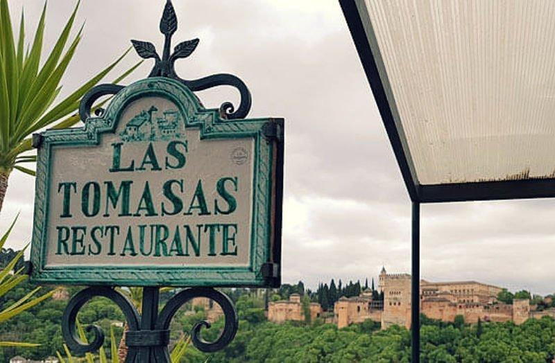 Cena romántica en Granada