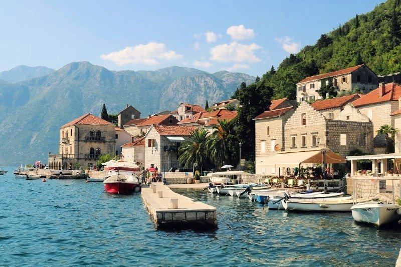 El encanto de Perast en la Bahía de Kotor