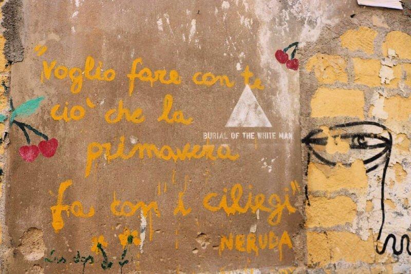 En Palermo suena Neruda